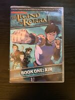 SHIPS SAME DAY The Legend of Korra: Book One Air DVD 2 Disc Set TH