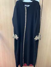 New Womens Long Islamic Abaya Jubbah Dress Ramadan Eid Size XXL