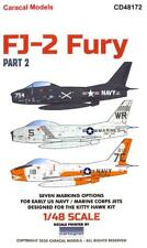 Caracal Decals 1/48 North American Fj-2 Fury Jet Fighter Part 2