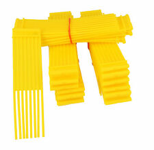 Yellow Sweeper Brushes Fits COUNTAX Lawn Tractor Pack Of 51 WESTWOOD