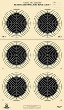 A-50 [A50] NRA Official 50 Meter UIT Smallbore Rifle Target, on Tagboard (22)
