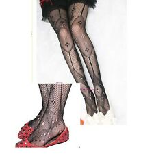 Sexy Black Women Fishnet Net Pattern Jacquard Pantyhose Tights Lots Style wa607A