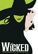 WICKED BROADWAY MUSICAL BOOK OZ WITCH A3 ART PRINT POSTER GZ5569