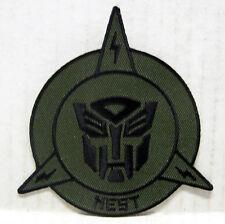 "Transformers NEST Camo Logo 3.5"" Uniform Patch- Mailed from USA  (TRPA-13)"