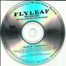 FLYLEAF New Horizons w/ MAIN & ACTIVE ROCK MIXES TST PRESS PROMO DJ CD Single