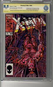 Uncanny X-Men (1963) # 205 - CBCS 8.5 White Pages -  SS2X Claremont & Shooter