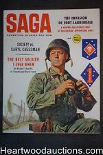 Saga Feb 1960 Stanley Borack Cvr, Ed Valigursky, College Invasion of Fort Lauder