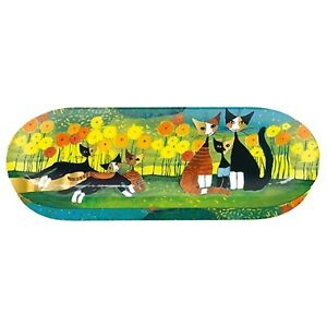 Fridolin 18717 Rosina Wachtmeister All Together Metal Glasses Case 16 x 6.6 x cm