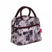 Cartoon Animlas Clutch Women's Waterproof Tote Shopping Lunch Box Bag Handbag