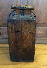 Antique Vintage Blasting Machine Dynamite Box Detonator Plunger
