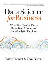 Data Science for Business: What You Need to Know about Data Mining and Data-Ana