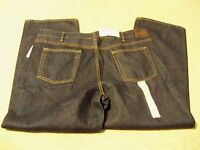 Mens Sonoma Relaxed Fit blue denim jeans W 36 x L 32 new with tags