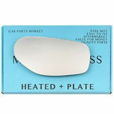 Right side Convex Wing mirror glass for Aston Martin DB7 94-04 heated + plate