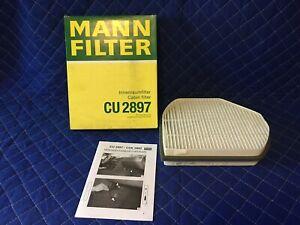 For 2004-2008 Chrysler Crossfire Cabin Air Filter Mann 27122GV 2005 2006 2007