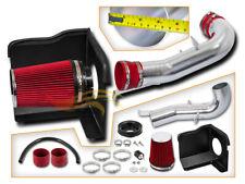 BCP RED 07-08 Suburban 1500/2500 V8 Heat Shield Cold Air Intake Kit