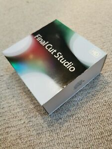 Apple Final Cut Studio 3 HD Pro 7 MB642Z/A Boxed Full Retail DVD inc License Key