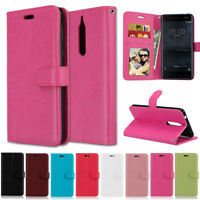 Luxury Wallet Leather Flip Case Cover For Nokia 4.2 3.2 2.2 2.3 6.1 7.1 5.1 8.1