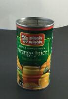 """Piggly Wiggly Orange Juice Can 4""""  6FL. OZ."""