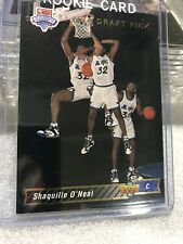 New listing Rare: 1993 93 Upper Deck NBA Draft Shaquille O'Neal Rookie RC #1b Trade Card