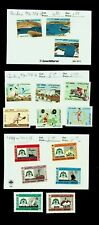 JORDAN DAMS, SPORTS & YOUTH, KING HUSSEIN SILVER JUBILEE SET OF 15v MH STAMPS