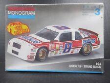 Monogram Snickers Brand Buick # 8 Rick Wilson Stock Car Model Kit #2940