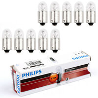 10Pcs  13913 24V2W T2W Ba9S 3200K Standard Signaling Lamp Lampadina