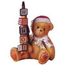 NIB Cherished Teddies Holden Bear w/ Blocks 176095 Priscilla Hillman '96 FREE SH