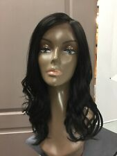 Bobbi Boss DRAYA MLF352 Long Wavy Lace Front Wig, 1B Off Black