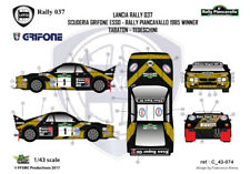 [FFSMC Productions] Decals 1/43 Lancia Rally 037 Grifone Piancavallo '85 winner