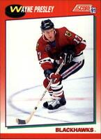 1991-92 Score American Hk 221-440 +Rookies - You Pick - Buy 10+ cards FREE SHIP