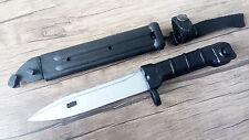 127B Bayonet Knife Arsenal Bulgaria Circle 10 Polymer Canvas/ Nylon Holder Strap