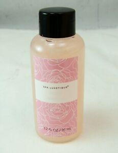 Body & Earth SPA LUXETIQUE ROSE Bubble Bath 3.2 oz 95 ml NEW NWOB Sealed