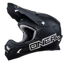 O'Neal 3 Series Matt Black Motorcycle Motocross MX Full Face Helmet XL 61/62cm