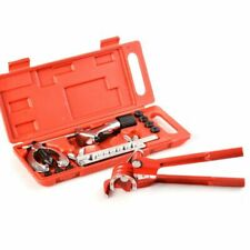 Brake Pipe Flaring Tool Kit Line Plumbing With Aluminum 3-In-1 180 Degree T D3H6