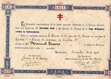 1904  rare piece of Uruguay soccer history Intrepido Club Parque Central Field