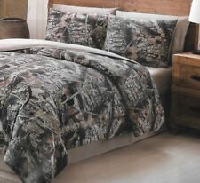 Mount Monadnock Queen size Remington Camo Natural Brown Hunting 8 pc Bedding set
