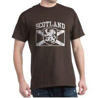 CafePress Scotland Dark T Shirt 100% Cotton T-Shirt (619934779)