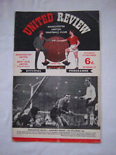 Orig.PRG    England  Division 1  1965/66   MANCHESTER UNITED - WEST HAM UNITED !