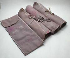 Woodward & Lothrop Anti-Tarnish Sterling Silver Flatware Storage Bags - Set of 4