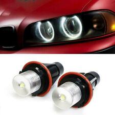 2x Ring Marker Side Light White LED Bulb Fit For BMW E39 E60 E87 X5 Halo