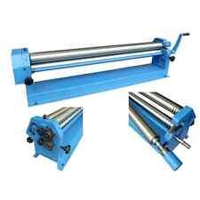 41 Metz Tools Sheet Metal working Slip Roll tool machine 305mm x 25.4mm rolls