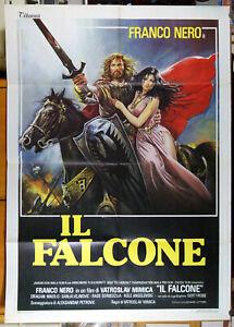 manifesto 2F film BANOVIC STRAHINJA - IL FALCONE Franco Nero SCIOTTI art 1982