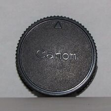 Canon Rear Lens Cap Genuine vintage made in Japan for FD manual focus lenses