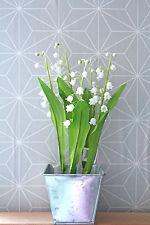 Deko blumen k nstliche pflanzen mit maigl ckchen duft for Glaspokal deko