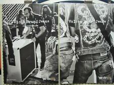 VOLCOM surf skateboard 2010 VALIENT THORR 2 SIDED POSTER ~MINT CONDITION~!