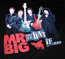 Mr. Big Around the World Tour What If 2011 Mens T-Shirt XL