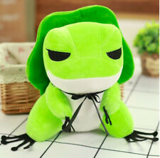 Travel Frog Cute Stuffed Animal Cute Frogs Cartoon Plush Doll Toys For Kid 30cm