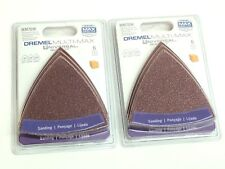 2 New Dremel Sanding Paper Assortment MM70W- 12 Count - 60-120-240- Free Sipping