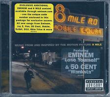 8 Mile O.S.T. (2002) CD NUOVO Eminem. 50 Cent. D12. Jay-Z. Obie Trice. Macy Gray