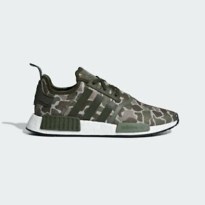 New Adidas NMD R1 Camo Boost D96617 Shoes US10-11 ultraboost pure ultra R2 TS1